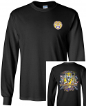 Bayou LSU Unisex Black Can't Hold That Tiger Long Sleeve Ultra Cotton T-Shirt