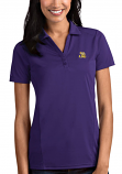 Antigua LSU Women's Purple Tribute Desert Dry Polo