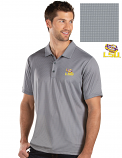Antigua LSU Men's Grey Balance Polo