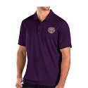 LSU Antigua Balance College Football Playoffs 2019 National Champions Official Logo Performance POLO - Purple