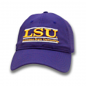 The Game LSU Purple Dri-Fit Relaxed Adjustable Classic Bar Design Hat