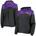 Columbia LSU Women's Full Zip Flash Forward Lined Windbreaker Jacket