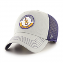 LSU 47 Brand Purple and Grey Porter Snap Back Mesh Hat