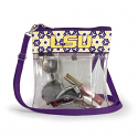 Dresden LSU Clear Game Day Crossbody Purse