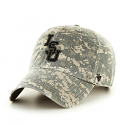 LSU 47 Brand Digital Operation Hat Trick Adjustable Clean Up Hat - Digital Camo