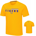 Colosseum LSU Men's Gold Key T-Shirt