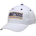 The Game LSU White Adjustable Structured Geaux Tigers Classic Bar Design Hat