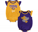 Gen2 LSU Infant Girl's 2-Piece Creeper Set