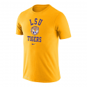 Nike LSU Men's Gold College Vault Retro Tiger Performance Tee