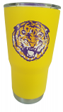 LSU Gold Stainless Steel Retro Tiger Tumbler - 30 oz.