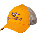 LSU The Game Gold Trucker Classic Bar Design Relaxed Adjustable Cap