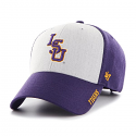 47 Brand LSU Purple & Grey Beta 47 MVP Structured Adjustable Hat