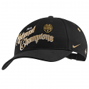 LSU Tigers Nike College Football Playoff 2019 National Champions LOCKER ROOM Ajustable HAT - Black