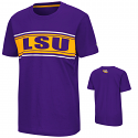Colosseum LSU Youth Purple Camp T-Shirt