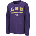 Colosseum LSU Youth Long Sleeve Wumbo T-Shirt