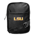 Little Earth LSU Black Crossbody Bag