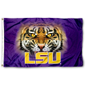 LSU 3' x 5' Silk Screened Tiger Eye Flag