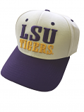LSU Tigers The Game Vintage Structured Adjustable Hat - Purple & White