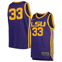 Nike LSU Men's Purple #33 Replica Basketball Jersey