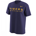 Nike LSU Men's Legend Performance T-Shirt - Purple
