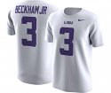 Nike Youth White Odell Beckham Jr. #3 Alumni Cotton T-Shirt