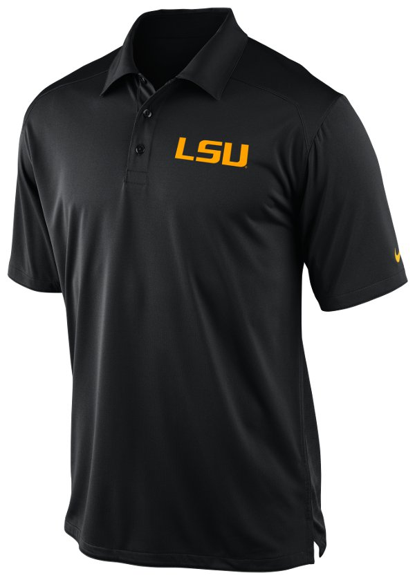 Lsu polo shirts purple and gold sports page 2 for Soccer coach polo shirt