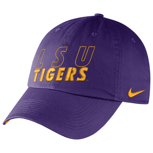 Nike LSU Tigers Purple Dri-FIT Heritage86 Adjustable Relaxed Fit Campus Hat