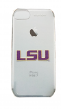LSU Clear Slim 6/6s/7 iPhone Keyscaper Case