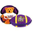 LSU Plush Football Bear
