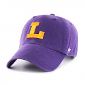 LSU 47 Brand College Vault Logo Adjustable Clean Up Hat - Purple