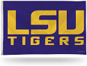 Rico 3' x 5' LSU Tigers Purple Flag with Grommets