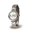 LSU Sparo Women's Stainless Steel Charm Watch