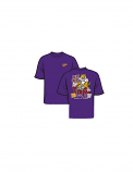 LSU VS Alabama 46 to 41 Victory Shirt - Purple  Orders will ship out starting 11/12/19
