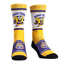 LSU Spongebob Squarepants Geaux Tigers Socks