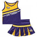 Colosseum LSU Infant Curling 2-Piece Cheerleading Set - Purple & Gold
