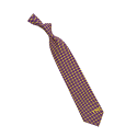 LSU Tigers Diamante Silk Tie