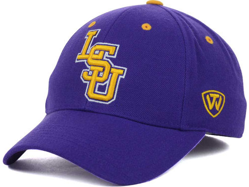 057cc759d31e3 Top of the World LSU Tigers Purple Dynasty Memory Fit Sized Hat - PURPLE  AND GOLD SPORTS