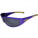 LSU Men's Retro Wrap Sunglasses UV 400 Protection