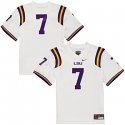 Nike LSU Tigers Youth #7 Football Jersey - White