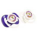 LSU Tigers Game Day 2-Pack Pacifers - Purple and White