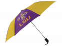 LSU Tigers Large Fleur de Bayou Automatic Umbrella by Totes - Purple and Gold