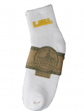 LSU Tigers Infant, Toddler, and Child Quarter Ankle Sock - White