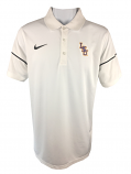 Nike Golf LSU Tigers Men's Dri-Fit Team Issue Baseball Polo - White