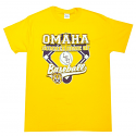 LSU Tigers Omaha Second Home Baseball T-Shirt - Gold