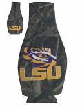 LSU Tigers Camo Neoprene Bottle Coozie