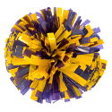 Game Day Purple and Gold Pom Pom