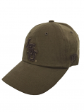 LSU Tigers Top of the World Bark Relaxed Fit Adjustable Hat - Bark Brown