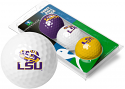 LSU Tigers Links Walker 3 Pack Golf Balls - Purple, Gold & White