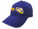 LSU Tigers Adjustable Relaxed Fit Fighting Tigers Hat by The Game - Purple