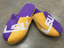 LSU Tigers Men's Slide Slippers - Purple and Gold